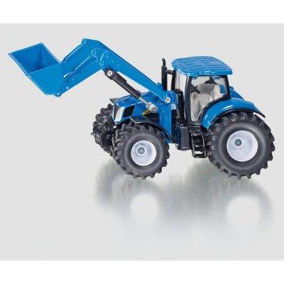 Tractor New Holland con pala - escala 1:50