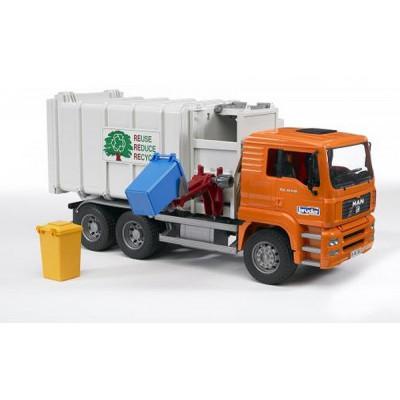 Camion Basura MAN carga lateral - escala 1:16