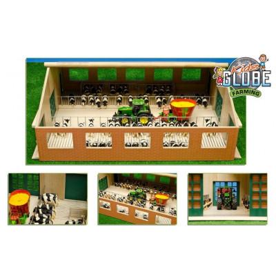 granja de madera - escala 1:32