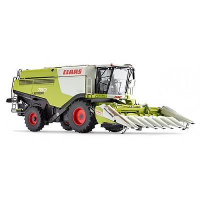 Claas Lexion 760 cosechadoras con Cabezal Maiz