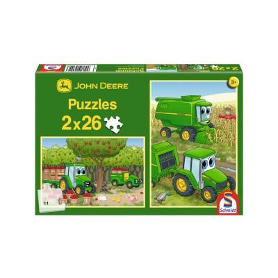 Johnny en la cosecha (puzzle)