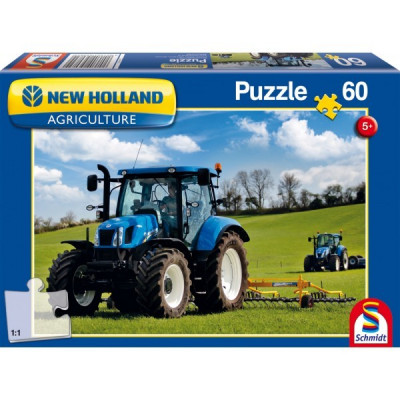 New Holland - T6AC: 60 piezas Puzzle