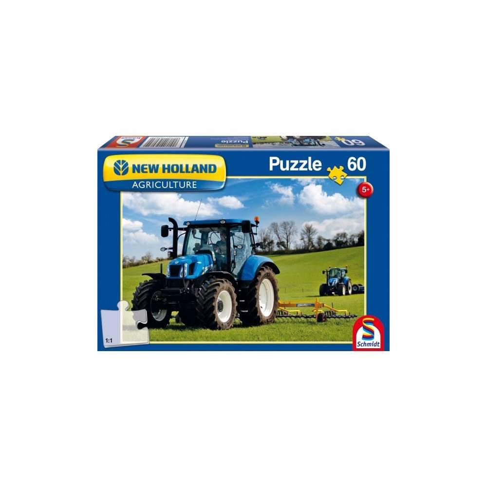 New Holland - T6AC: 60 piezas Puzzle