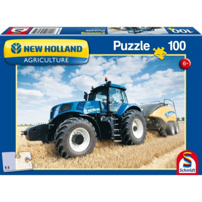 New Holland - BigBaler 1290: 100 Puzzle