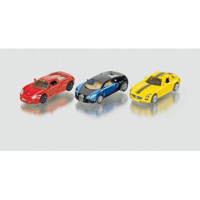 3 coches deportivos