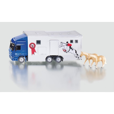 Camion con caballos escala 1:50