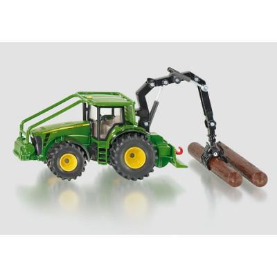 John Deere tractor forestal - escala 1:50