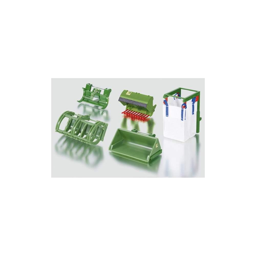 Accesorios para carga delantera - Escala 1:32