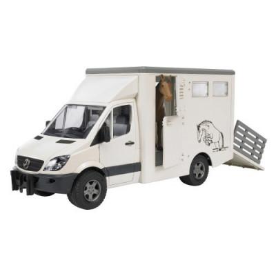 Coche MB para transporte caballo incluye un caballo - Escala 1:16