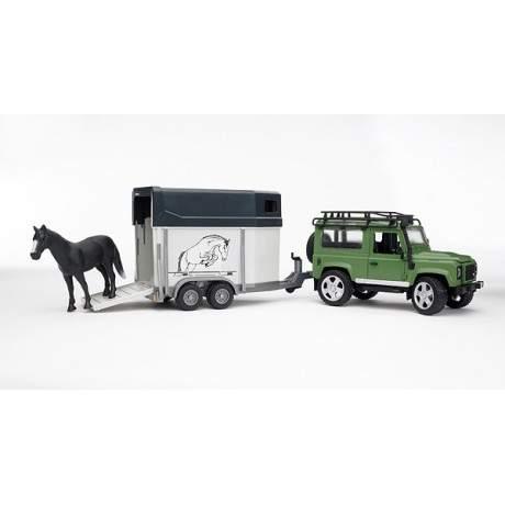 Land Rover  y caballo
