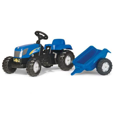 New Holland y remolque
