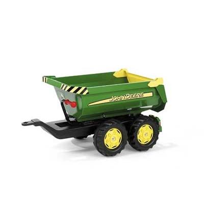 Remolque 2 ejes John Deere para tractor a pedales