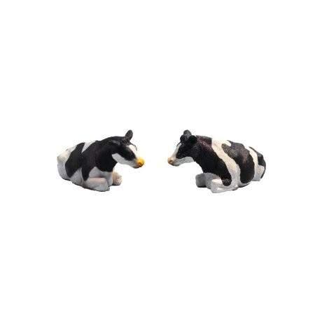 Vacas Negras Tumbados - Escala 1:32