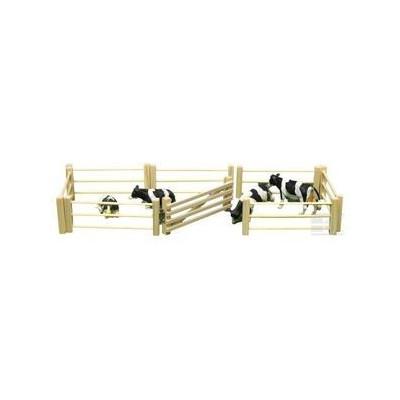 Set de Vallas de madera 6 piezas - escala 1:32