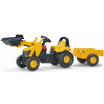 Tractor pedales JCB