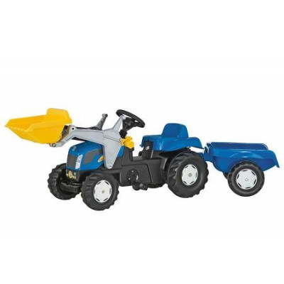 New Holland pala remolque