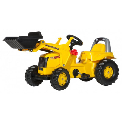 Tractor New Holland construcion W190C con pala a pedales