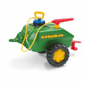 Cisterna Verde para tractor a pedales con bomba