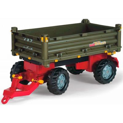Remolque 2 ejes para tractor a pedales