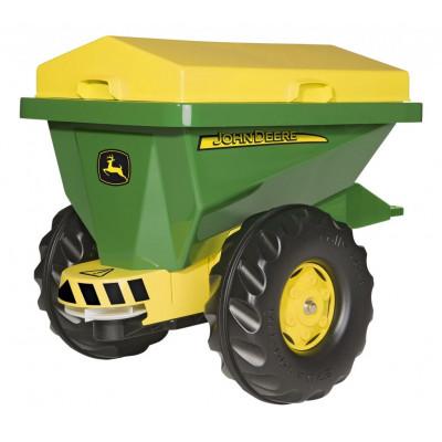 Abonadora John Deere para tractor de pedales