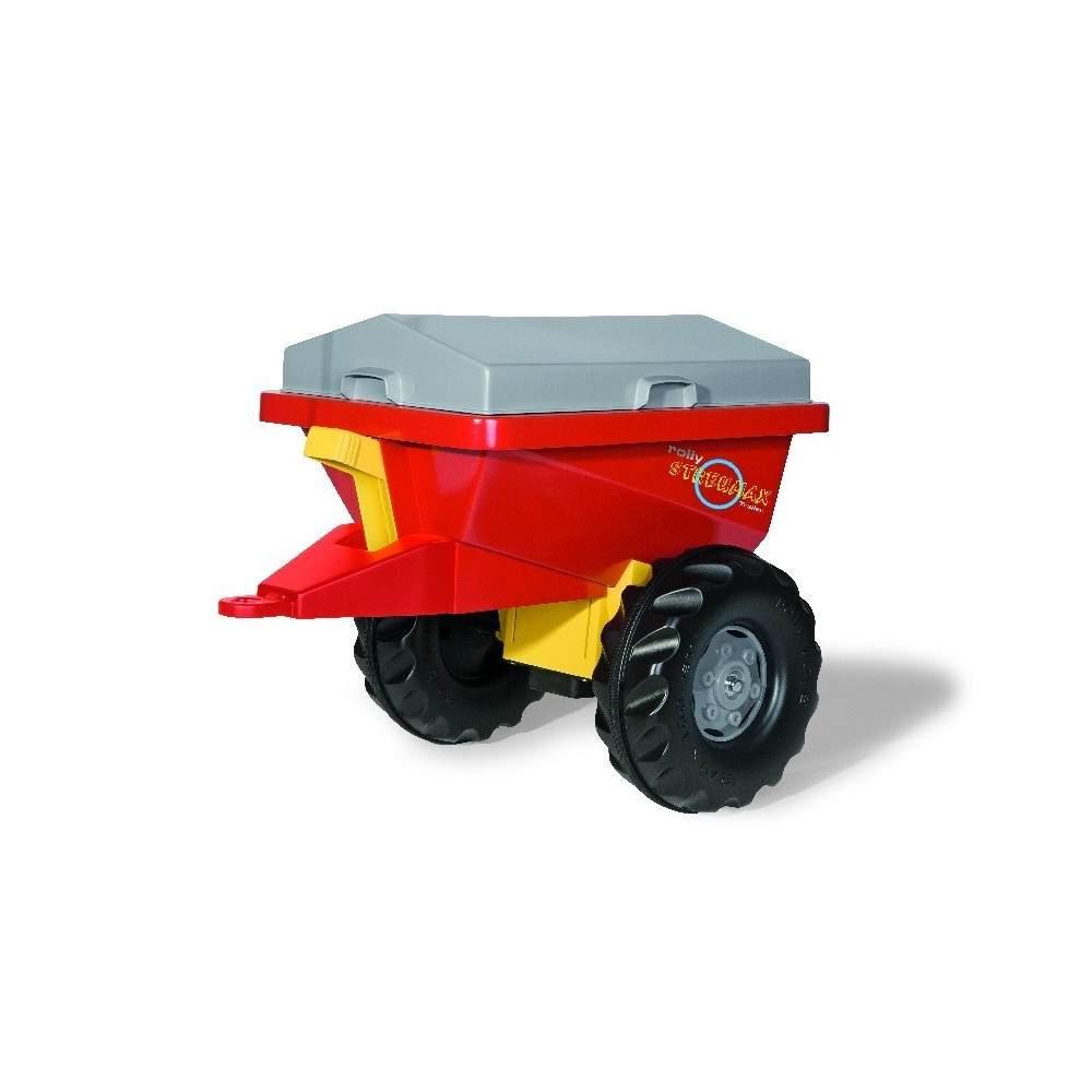 Abonadora Roja para tractor de pedales