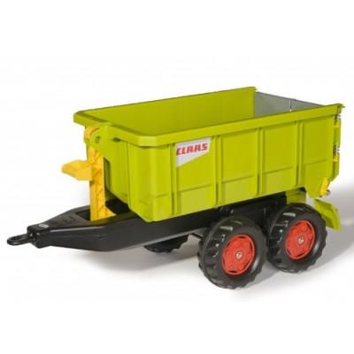 Remolque Claas 2 ejes para tractor a pedales