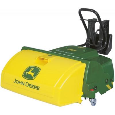 Barredora John Deere para tractor a pedales