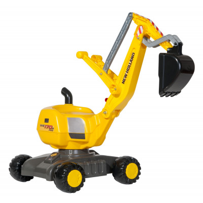 Excavadora New Holland a pedales