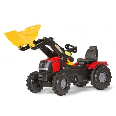 Tractor Case Puma 225 con pala a pedales
