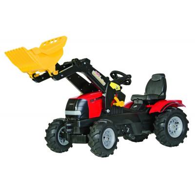 Tractor Case Puma 225 con pala a pedales con ruedas neumaticas