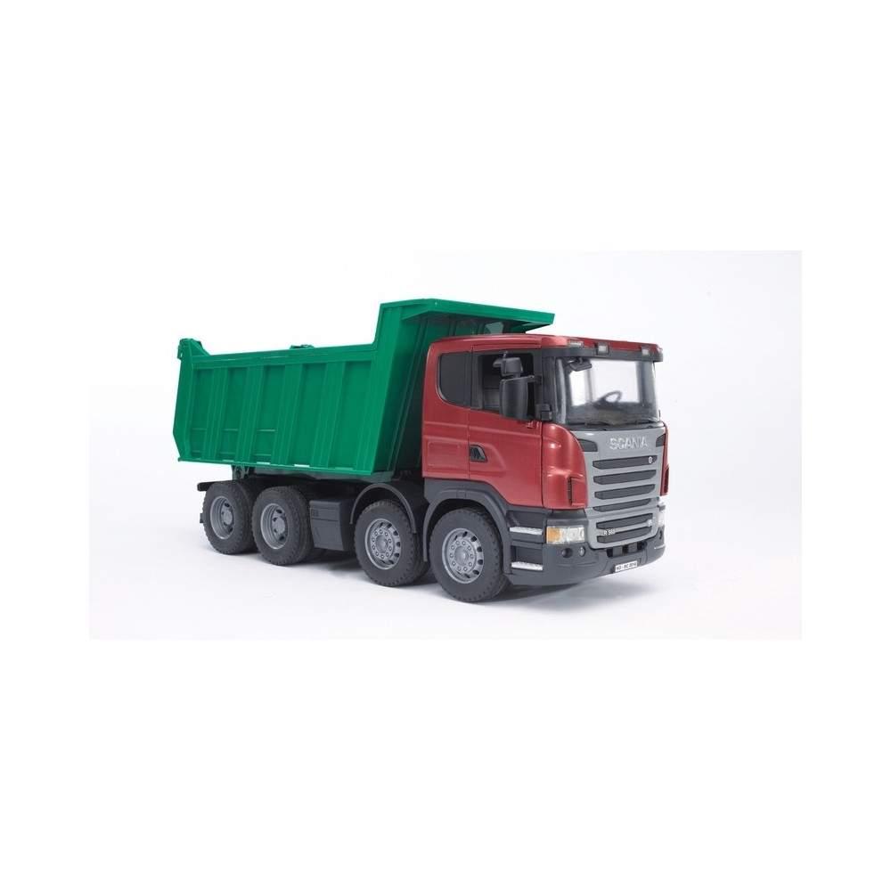 Camion Scania R con basculante - Escala 1:16