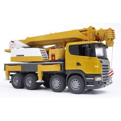 Camion Scania R con grua Liebherr - Escala 1:16