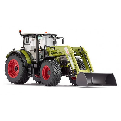 Claas Arion 650 con cargador frontal