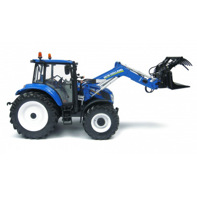 NEW HOLLAND T5.115 con pala escala 1:32