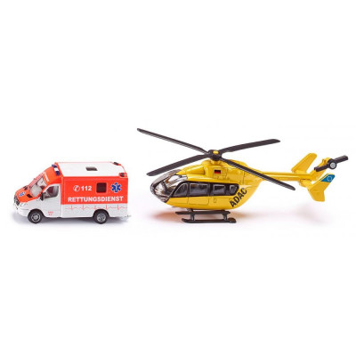Conjunto de Servicios de Emergencia - escala 1:87