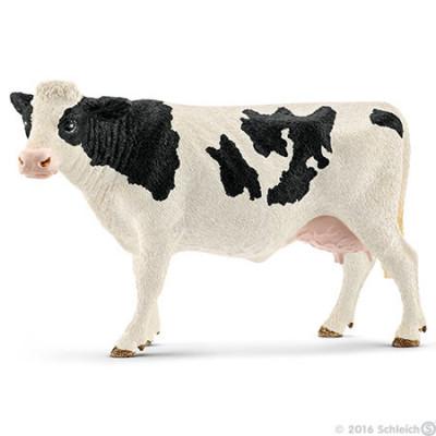 Vaca frisona de manchas negras