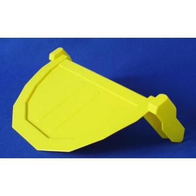 trampilla remolque amarilla