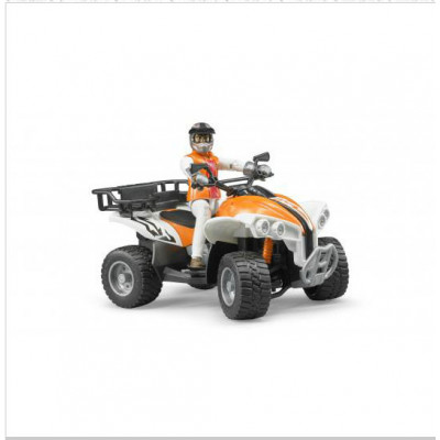 Quad con conductor - escala 1:16