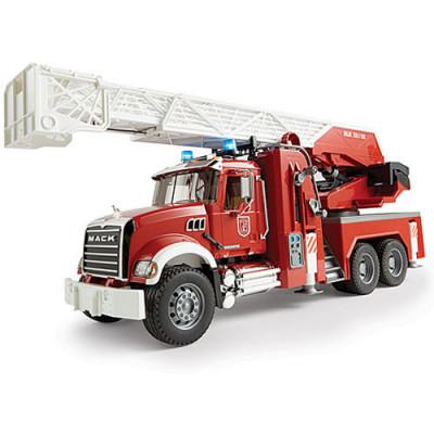 Camion Bomberos MACK con escalera y deposito de agua - escala 1:16
