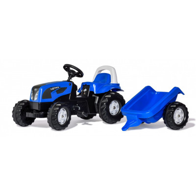 Landini Power Farm 100 con remolque