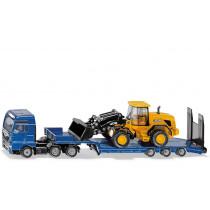 Camión MAN con JCB
