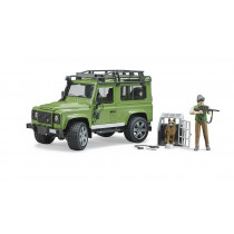 Land Rover Defender con guarda forestal
