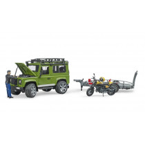 Land Rover Defender+Scrambler Ducati Full Throttle