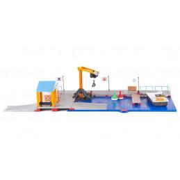 Estación de suministro para barcos