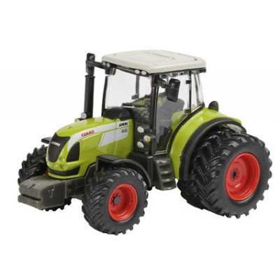 Tractor Claas Arion 540 con ruedas doble - escala 1:87