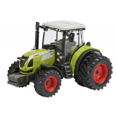 Tractor Claas Arion 540 con ruedas doble - escala 1:87
